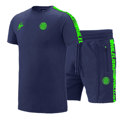 Foto van Malelions Twinset Home kit Sport Navy Green