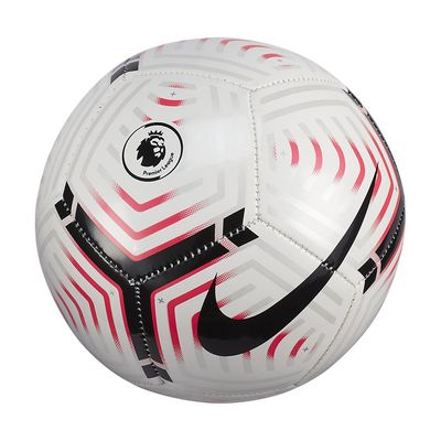 Foto van Nike Premier League Strike Mini Voetbal White Laser Crimson