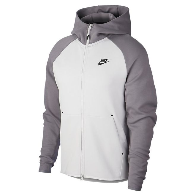 Afbeelding van Nike Sportswear Tech Fleece Vast Grey Gunsmoke Black