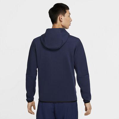 Foto van Nike Sportswear Tech Fleece Hoodie Midnight Navy