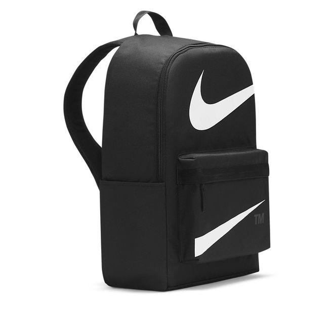 Afbeelding van Nike Heritage Swoosh Rugzak Black White