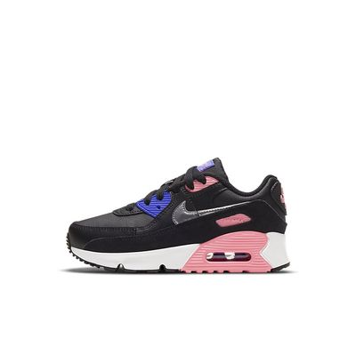Foto van Nike Air Max 90 Leather Kids Black Sunset Pulse
