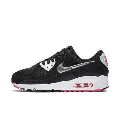 Foto van Nike Air Max 90 Black Silver Pink