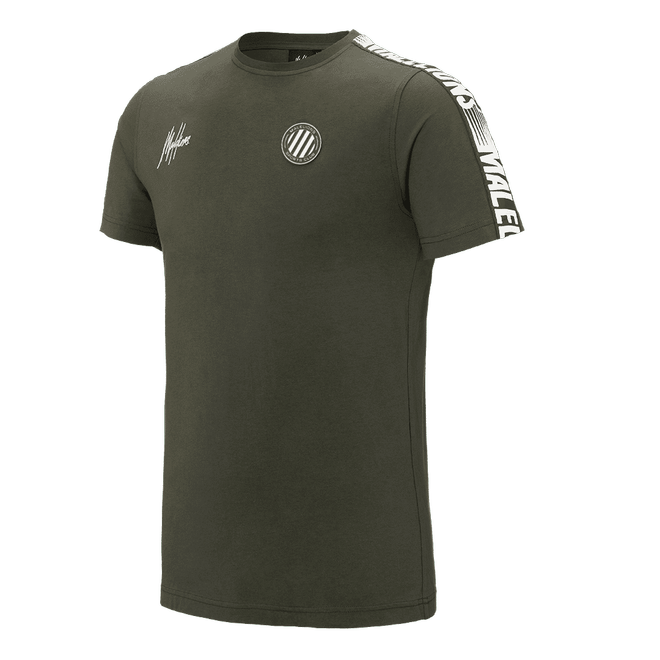 Afbeelding van Malelions Twinset Home kit Sport Army White