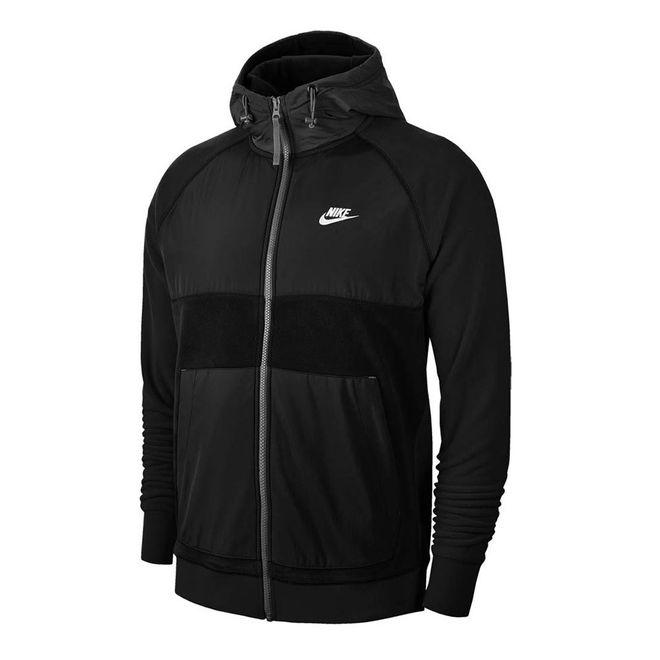 Afbeelding van Nike Sportswear Men's Full-Zip Fleece Hoodie Black