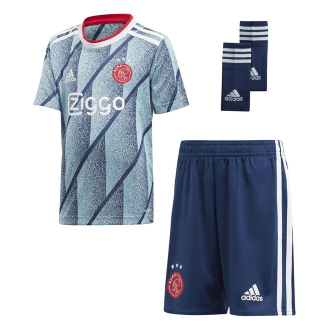 Afbeelding van Ajax minikit Uit Icey Blue