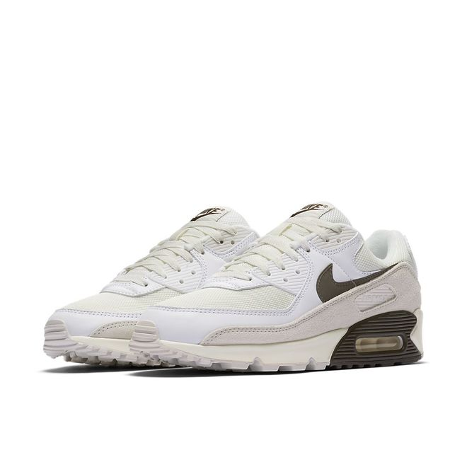 Afbeelding van Nike Air Max 90 White Baroque Brown