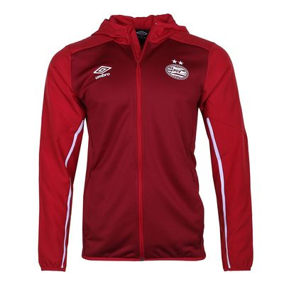 Foto van Umbro PSV Trainingspak Hooded Set Biking Red