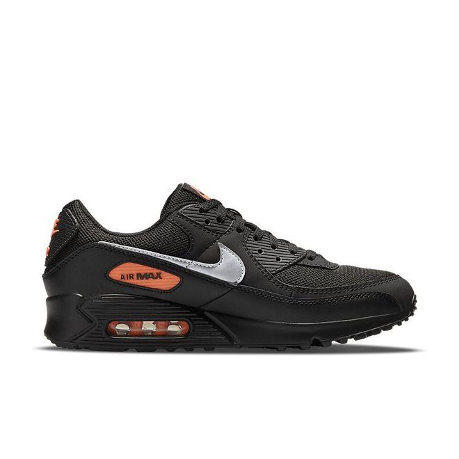 Afbeelding van Nike Air Max 90 Black Total Orange