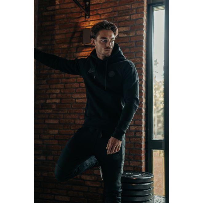 Afbeelding van Malelions Sport Coach Hoodie Set Black Antra