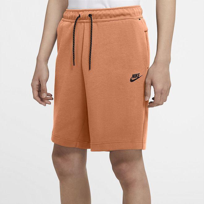 Afbeelding van Nike Sportswear Tech Fleece Short Orange Frost