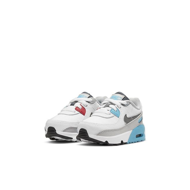 Afbeelding van Nike Air Max 90 Kids White Iron Grey