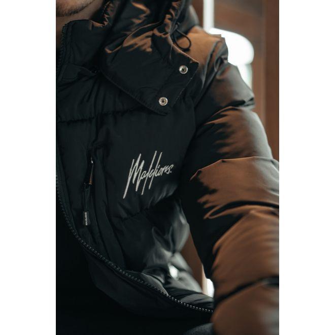 Afbeelding van Malelions Sport Astro Puffer Jacket Black