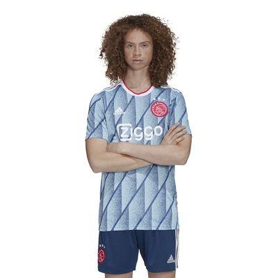 Foto van Ajax Shirt Uit Icey Blue