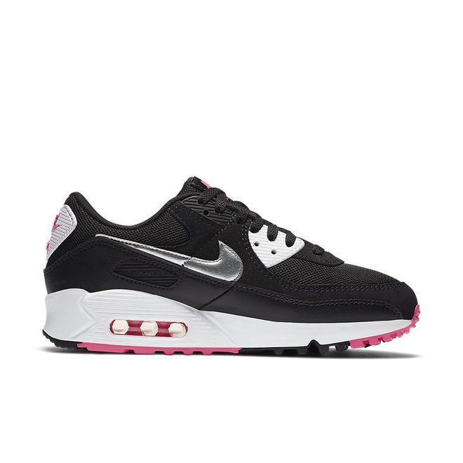 Afbeelding van Nike Air Max 90 Black Silver Pink
