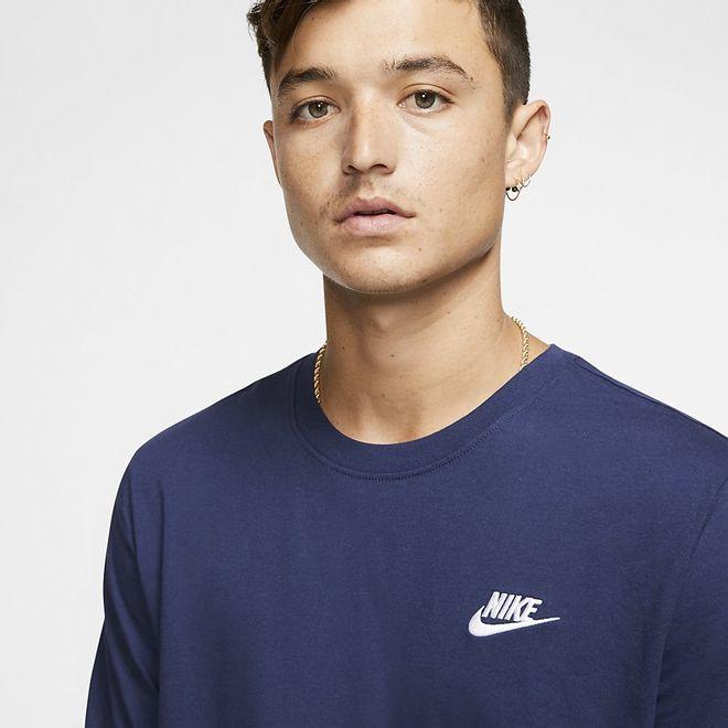 Afbeelding van Nike Sportswear Club T-Shirt Midnight Navy