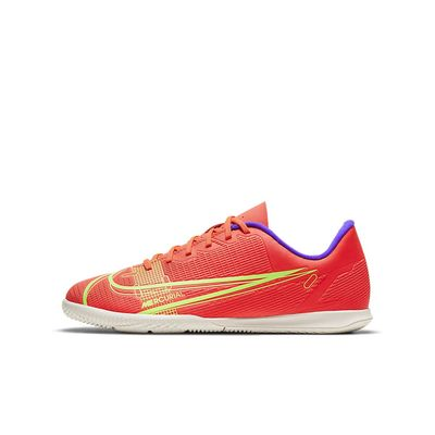 Foto van Nike Mercurial Vapor 14 Club IC Kids Bright Crimson