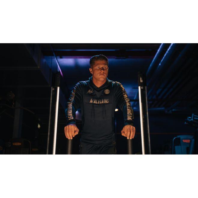 Afbeelding van Malelions Sport Tracksuit Warming Up Navy/Gold