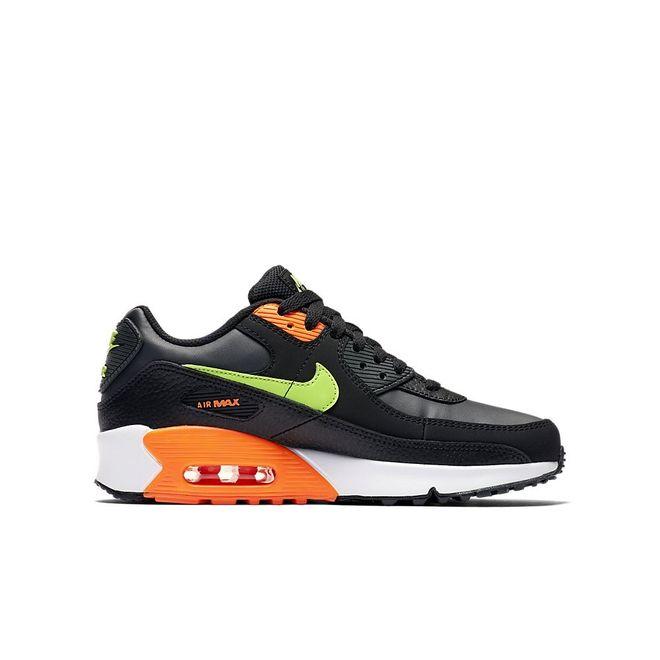 Afbeelding van Nike Air Max 90 Kids Black Ghost Green