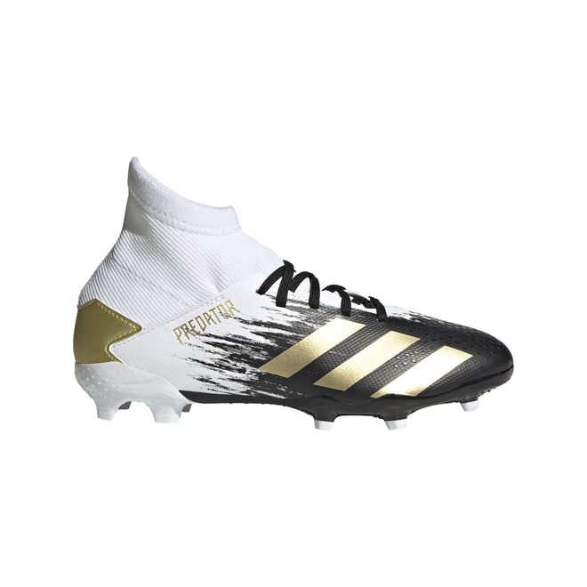 Afbeelding van Adidas Predator 20.3 FG Kids White Gold