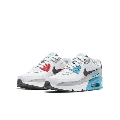 Foto van Nike Air Max 90 Kids Leather White Iron Grey