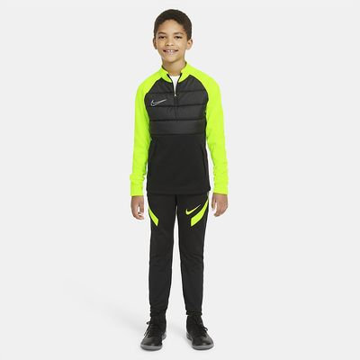 Foto van Nike Sportswear Therma Padded Academy Drill Set Kids Black Volt