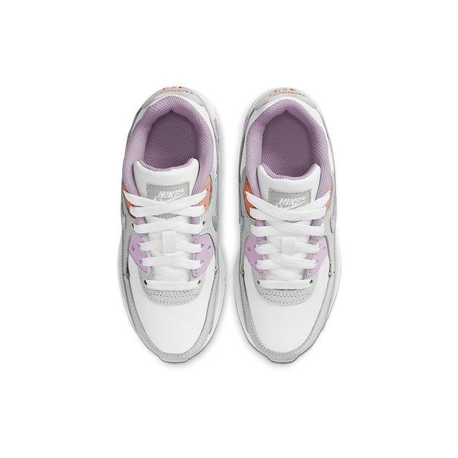 Afbeelding van Nike Air Max 90 Leather Kids Platinium Tint