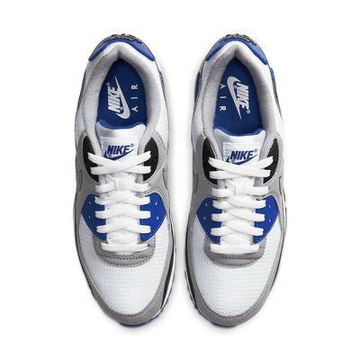 Foto van Nike Air Max 90 Particle Grey Hyper Blue