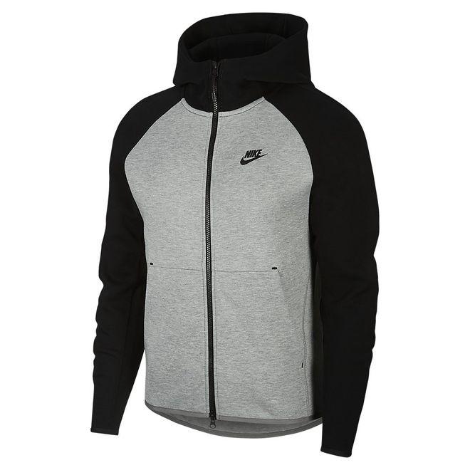 Afbeelding van Nike Sportswear Tech Fleece Dark Grey Heather Black