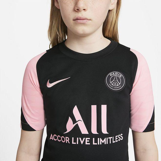 Afbeelding van Paris Saint-Germain Strike Zomerset Kids Black Arctic Punch