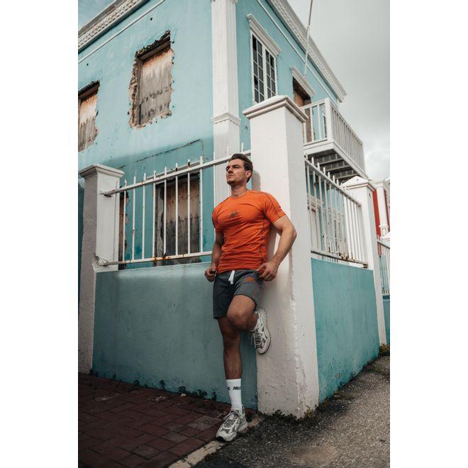 Afbeelding van Malelions Sport Thies Summer Set Peach Matt Grey