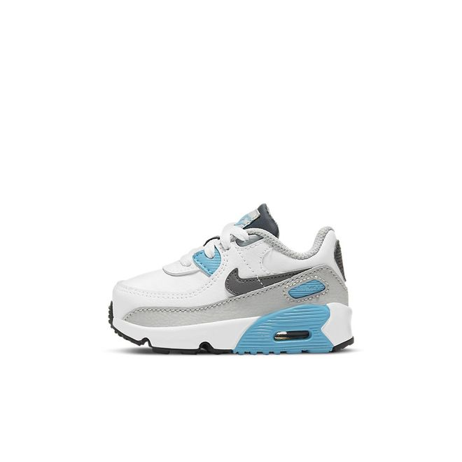 Afbeelding van Nike Air Max 90 Kids White Iron Grey