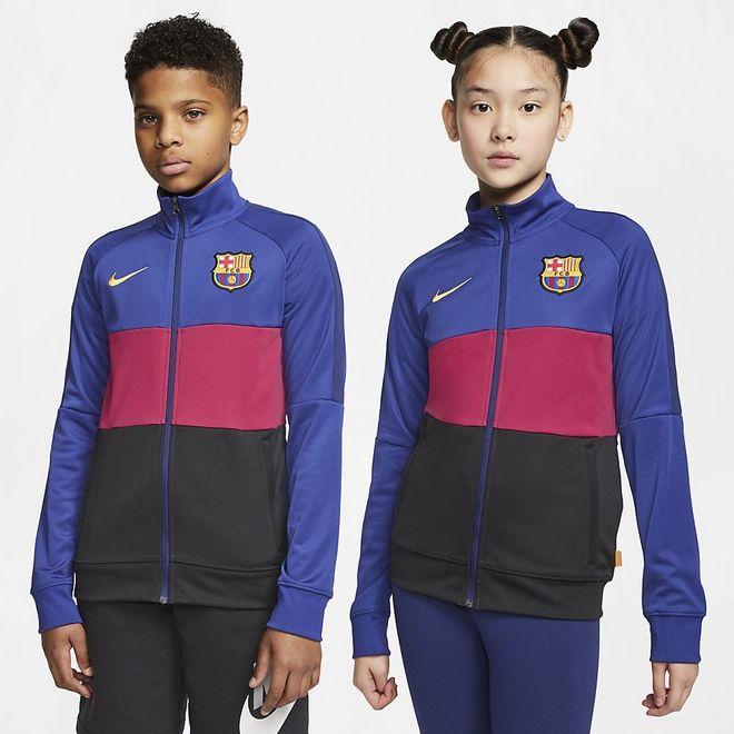 Afbeelding van FC Barcelona Dri-FIT Trainingspak Kids Noble Red
