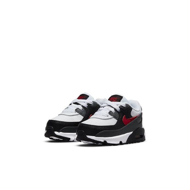 Afbeelding van Nike Air Max 90 Kids White University Red