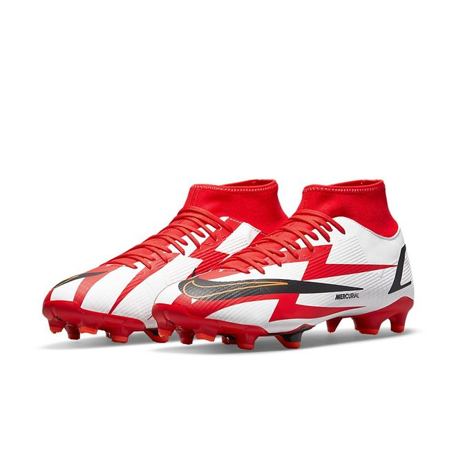 Afbeelding van Nike Mercurial Superfly 8 Academy CR 7 FG/MG Chile Red