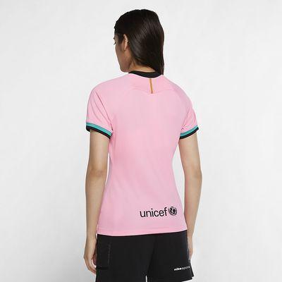 Foto van FC Barcelona 2020/21 Stadium Derde Voetbalshirt Dames Pink