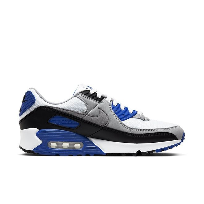 Afbeelding van Nike Air Max 90 Particle Grey Hyper Blue