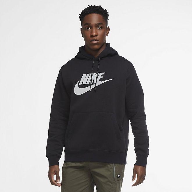 Afbeelding van Nike Sportswear Club Hooded Fleece Set Black