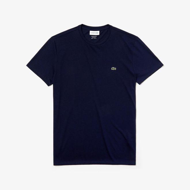 Afbeelding van Lacoste T-shirt met Ronde Hals Navy