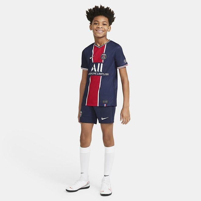 Afbeelding van Paris Saint-Germain 2020/21 Stadium Thuis/Uit Voetbalshort voor Kids