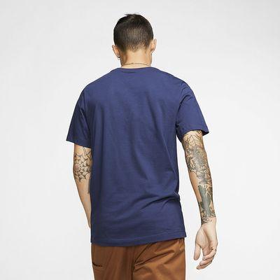 Foto van Nike Sportswear Club T-Shirt Midnight Navy