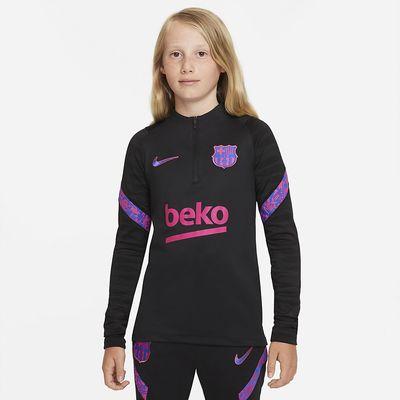 Foto van FC Barcelona Dri-FIT Strike Set Kids Balck Hyper Royal
