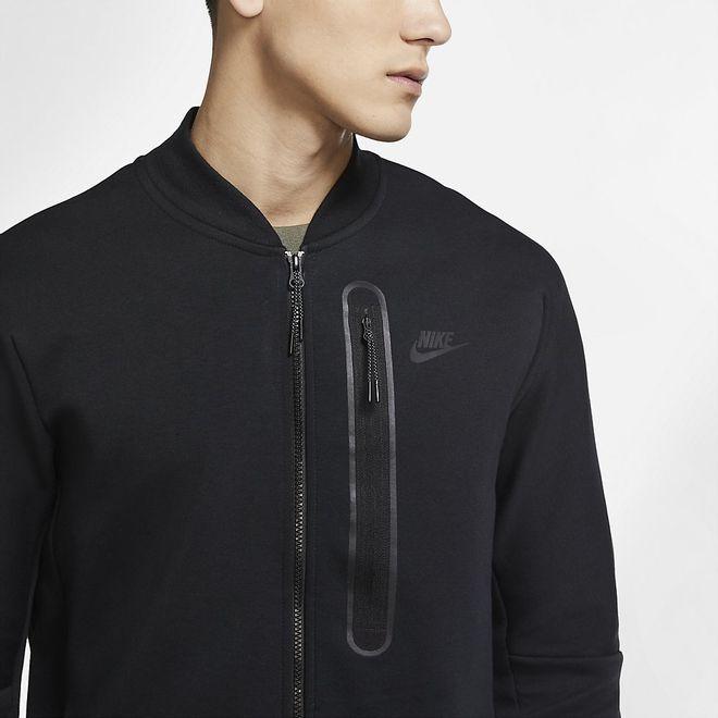 Afbeelding van Nike Sportswear Tech Fleece Bomberjack Black