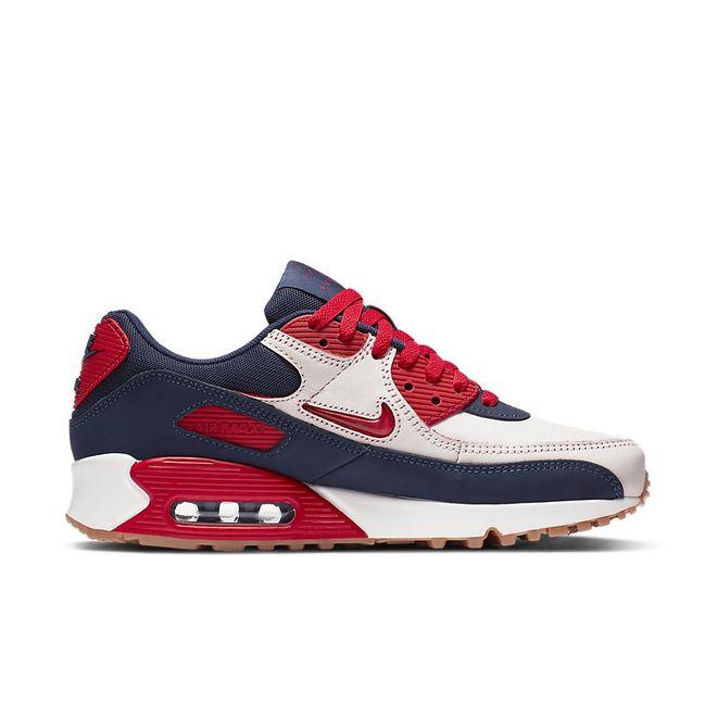 Afbeelding van Nike Air Max 90 Premium Home & Away Red