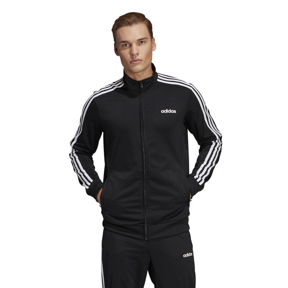 Adidas Essentials 3 Stripes Trainingspak Zwart