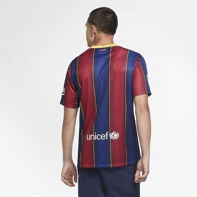 Foto van FC Barcelona 2020/21 Stadium Thuis Voetbalshirt