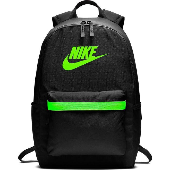 Afbeelding van Nike Heritage 2.0 Rugzak Black-Electric Green