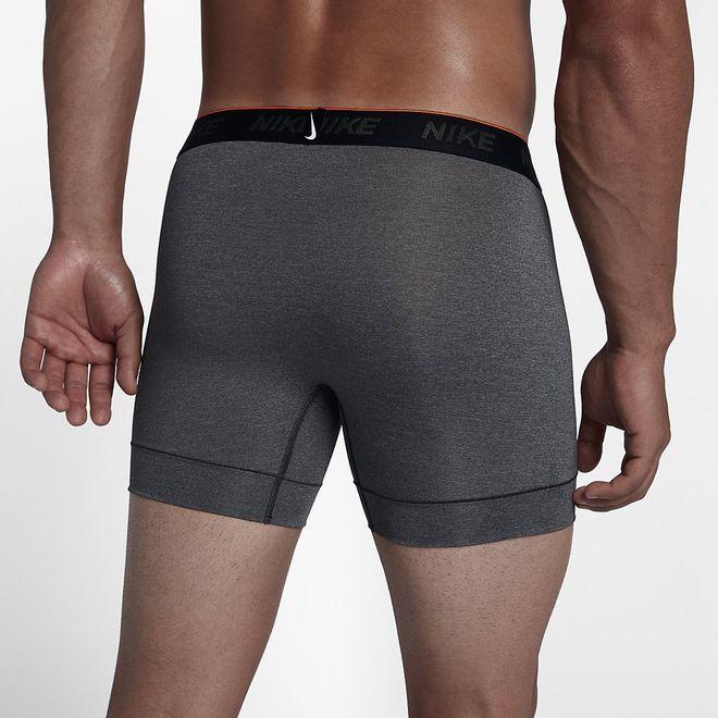 Afbeelding van Nike Brief Boxer 2 Pack Anthracite