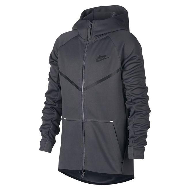 Afbeelding van Nike Sportswear Tech Fleece Hoodie Kids Dark Grey