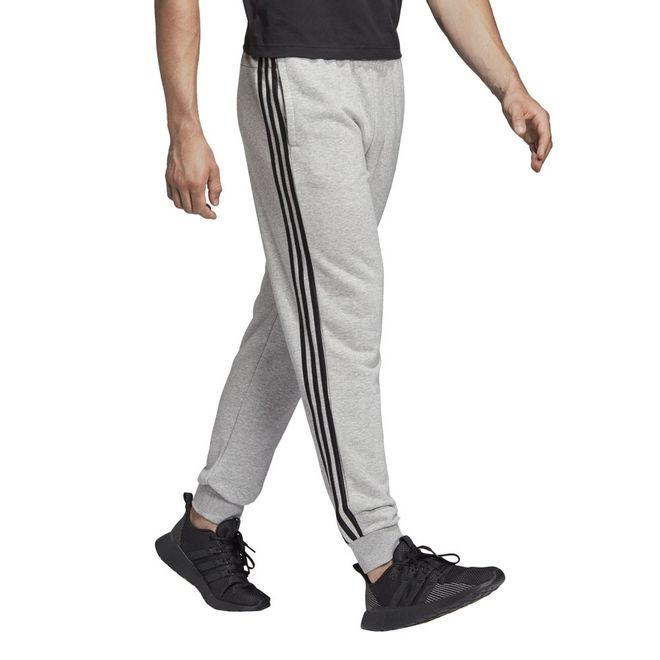 Afbeelding van Adidas Essentials 3 Stripes Sweatset Grey Heather